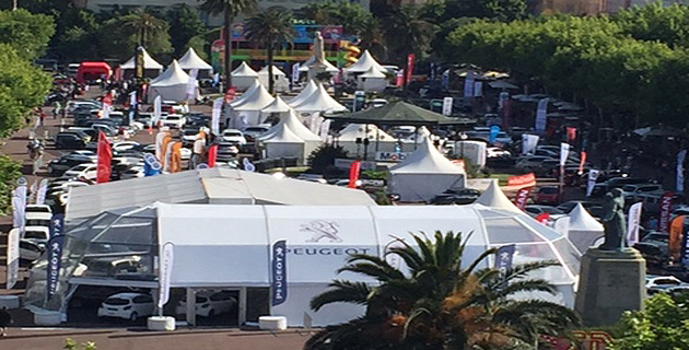 Salon du véhicule de Bastia : C'est parti !