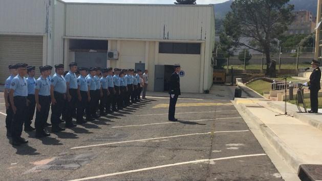 Bastia : Hommage aux gendarmes victimes du crash d'hélicoptère de Vignemale