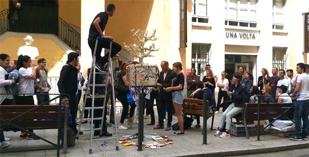 Bastia :  L'opération Livres en boîtes se poursuit