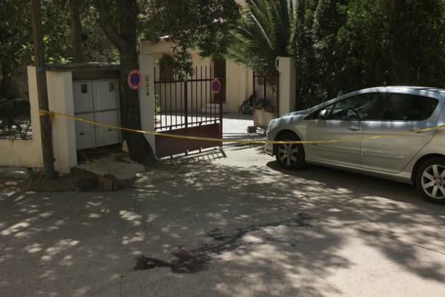 C'est devant la villa que Stéphabe Gaberland a été abattu