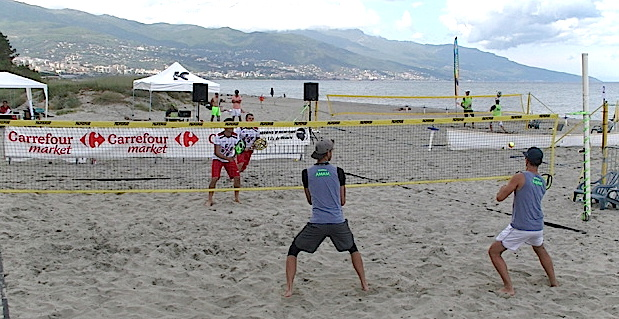 Tournoi international de Beach-tennis à Biguglia