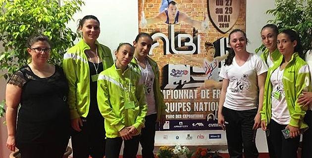 Ginastica corsa di u paese aiaccinu : Une 5e place aux finales nationales d'Albi