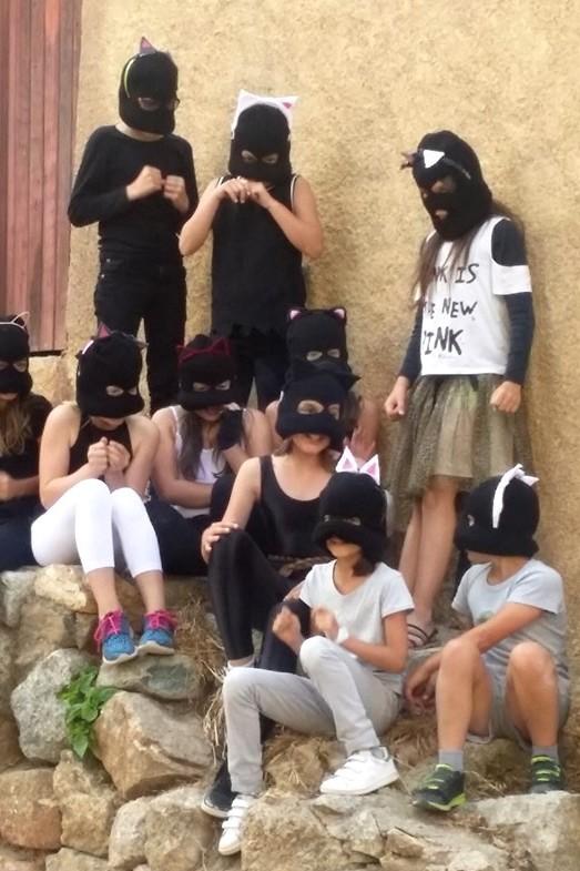 Citadella in festa avec les enfants de l'école Loviconi de Calvi