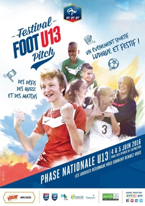 L'AC Ajaccio en phase nationale du Festival Foot U13 Pitch à Capbreton l