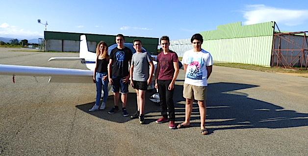 Claire Therez, Lucas Delirant, Julien Paoli, Johan Ramillon et Alexandre Santoni ont réussi avec brio le BIA.,