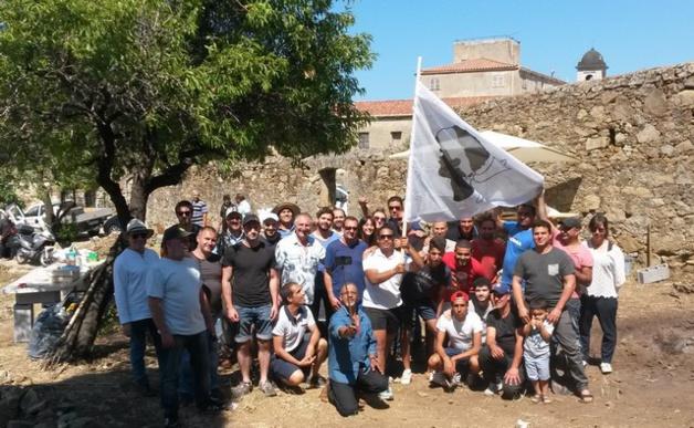 Merendella de l'union et de la tolérance à L'Ile-Rousse avec I Citatini lisulani