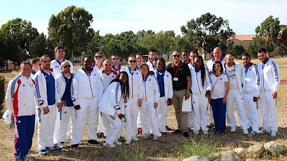 Séances de dédicaces et bain de foule pour l'équipe de France olympique de judo à Calvi