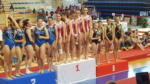 Gymnastique : Le GC Paese Aiaccinu troisième à Avignon