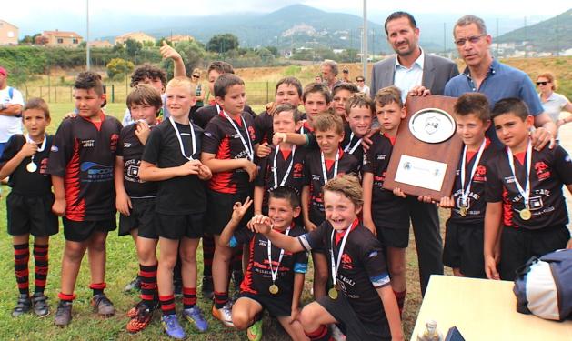 En U10 le bouclier Antoine-Tieri a été remporté par le RC Lucciana