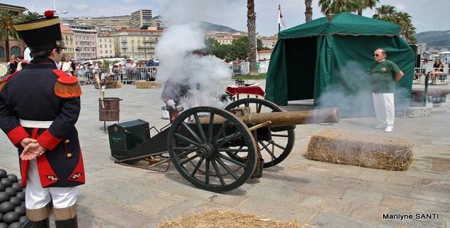 Un week-end de fête dans le centre-ville d'Ajaccio