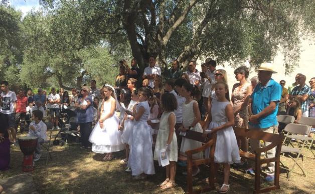 Première communion pour les enfants de la paroisse de Calenzana