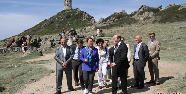 """""""Grand site de France"""" de la Parata : L'appui total de Ségolène Royal"""