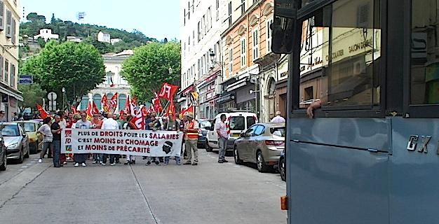 Loi travail El Khomri : Nouvelle journée de mobilisation à Bastia
