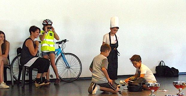 Sécurité cycliste, sport et handicap : Biguglia à bonne école !