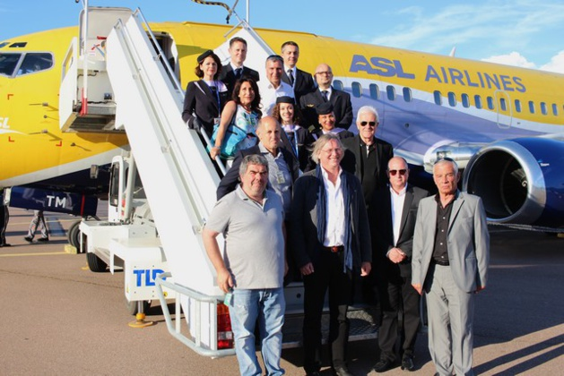 Paris Charles-de-Gaulle - Calvi : Vol inaugural de ASL Airlines