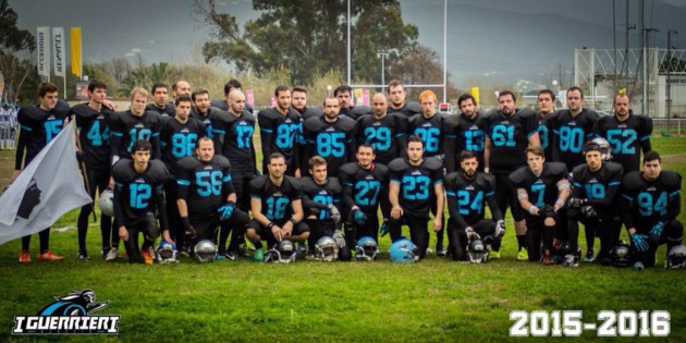 Football américain : I Guerrieri d'Aiacciu champions… d'Italie !