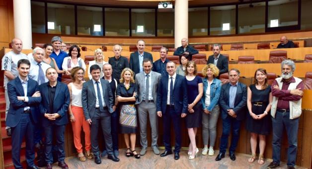 CTC : Le comité de pilotage du SRDE21 de Corse sur les rails