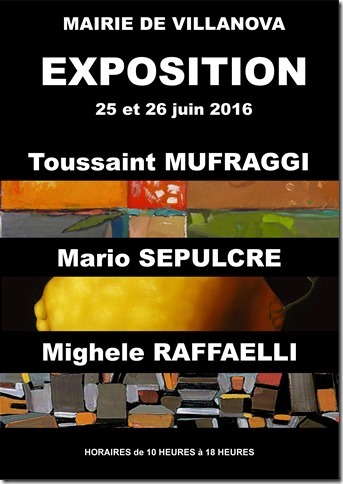 Exposition collective à la mairie de Villanova
