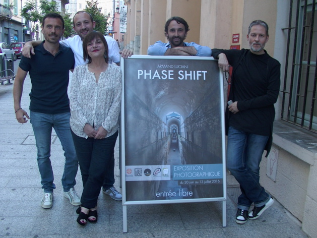 "Bastia : ""Phase Shift"" d'Armand Luciani à Una Volta"