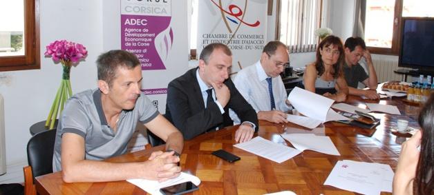 Aide aux entreprises et soutien à l'entrepreunariat : Un protocole d'accord CCI2A /Adec