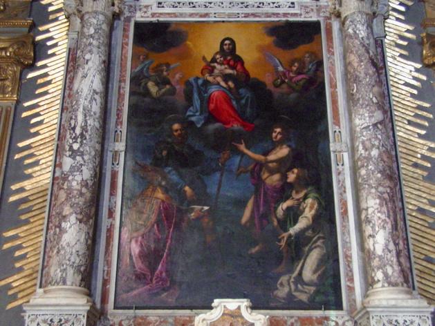 Bastia : Restauration du tableau de Giovanni Bilivert à l'Oratoire Saint Roch