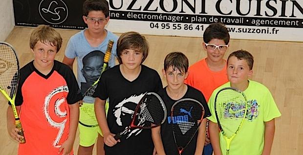 On rentre dans le vif du sujet à l'Open international de Squash de l'Ile-Rousse