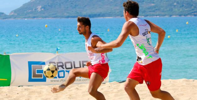 Jean-Baptiste Baraglioli et Jean-Christophe Gruet-Masson, le duo gagnant du tournoi (Photo : Marcu-Antone Costa)