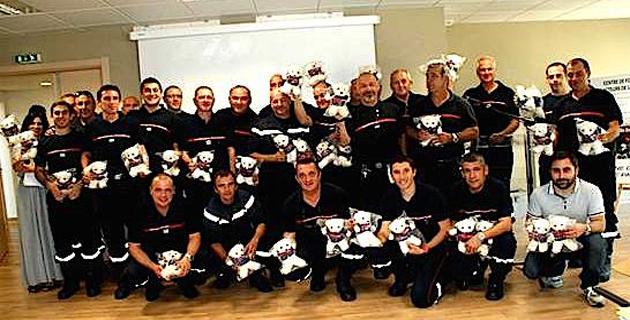Les sapeurs-pompiers de Haute-Corse soutiennent l'opération « Pompy »