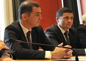 Transports maritimes : Gilles Simeoni et Jean-Félix Acquaviva avec une délégation corse en Ecosse