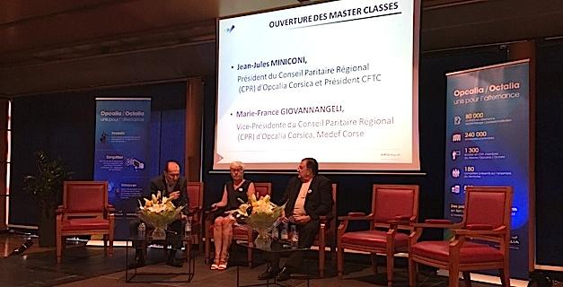 Ajaccio : Opcalia Corsica a organisé les Master Classes de l'alternance