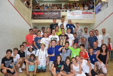 Thierry Lincou et Isabelle Stoehr en or à l'Open international de Squash de L'Ile-Rousse