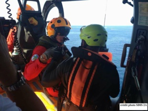 Porto-Pollo : Trois kayakistes en difficulté secourus par les sapeurs-pompiers plongeurs