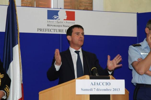 Corse : Manuel Valls vient présenter les principales propositions du Gouvernement