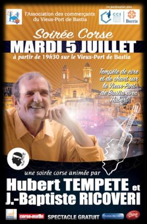 """Bastia : """"Tempête de… rires"""" annoncée sur le Viex-Port"""