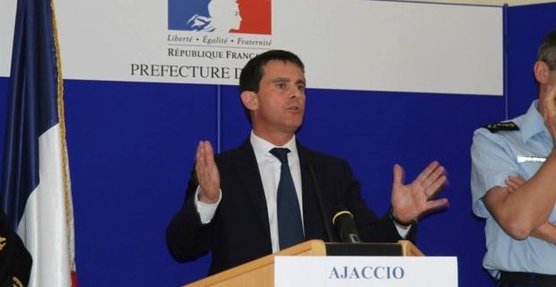 Le discours de Manuel Valls devant l'Assemblée de Corse