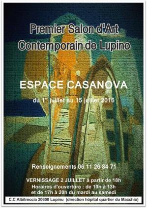 Bastia : Premier salon d'art contemporain à Lupino