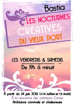 Bastia s'anime avec les nocturnes créatives du Vieux-Port