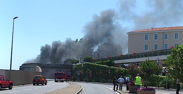 Accident, altercation et feu dans le tunnel de Bastia : Le film des événements