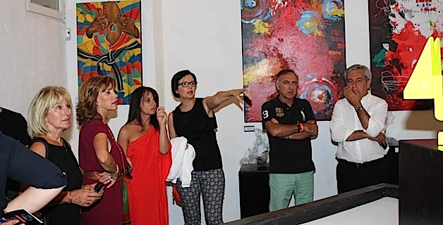 "Vernissage à Calvi de l'expo permanente ""Citadellarte"""