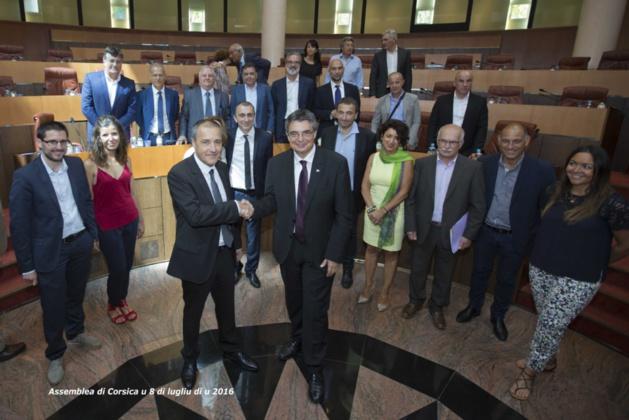 Le conseil permanent corso-sarde installé à  Ajaccio