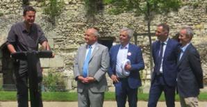 Pierre-Yves Fux, Serge Babary, Gilles Simeoni et Antoine Selosse.
