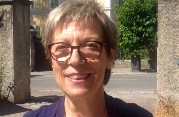 Cathy Acquaviva, présidente de l'association des commerçants de Corte