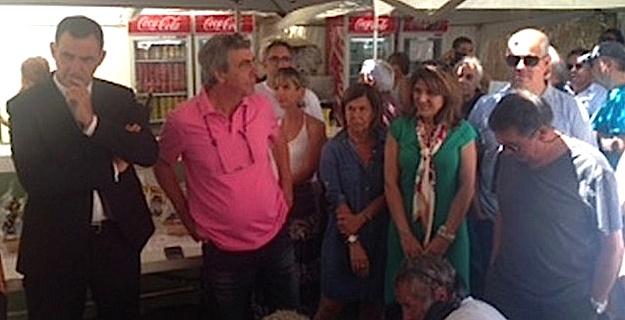 Gilles Simeoni inaugure A Fiera di L'Alivu à Montegrossu