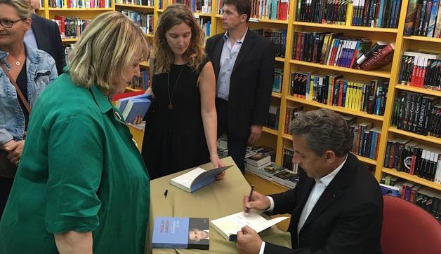 Nicolas Sarkozy à Ajaccio