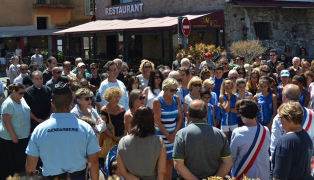 Attentat de  Nice : L'hommage de la Corse