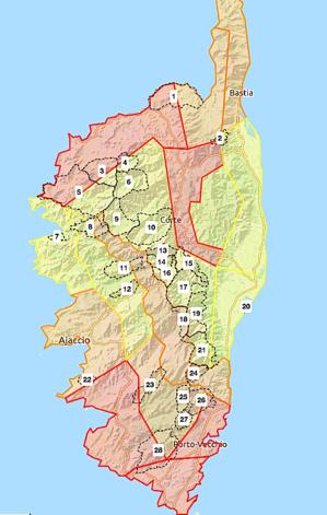 Risques très sévères d'incendies dans le Cortenais, en Balagne et dans l'Extrême-Sud