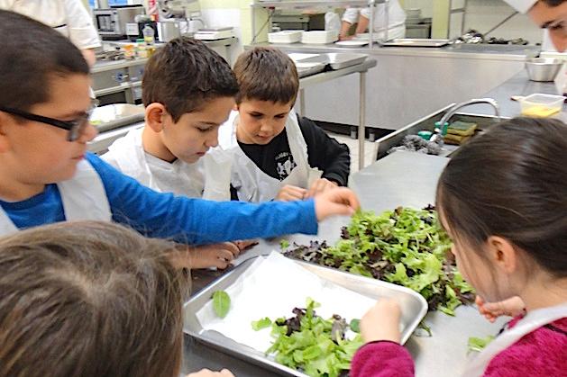 Da a terra à u piattu: Les élèves d'Ocana passent en cuisine