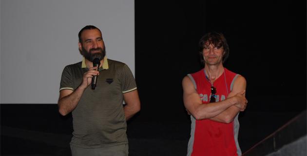 Daniel Benedittini, directeur du Régent et Gérard Guerrieri, réalisateur (Photos @Laurent H)