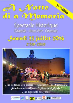 """Bastia : La 31e """"Notte di a Memoria"""""""