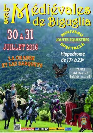 Joutes équestres, chasse, banquets et fauconnerie aux 5èmes Médiévales de Biguglia
